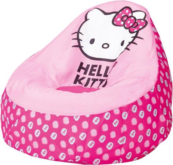 Zitzak Voor Meisjes.Hello Kitty Opblaasbaar Zitzak Roze