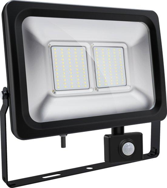 Sensor led bouwlamp 50 Watt koud wit licht