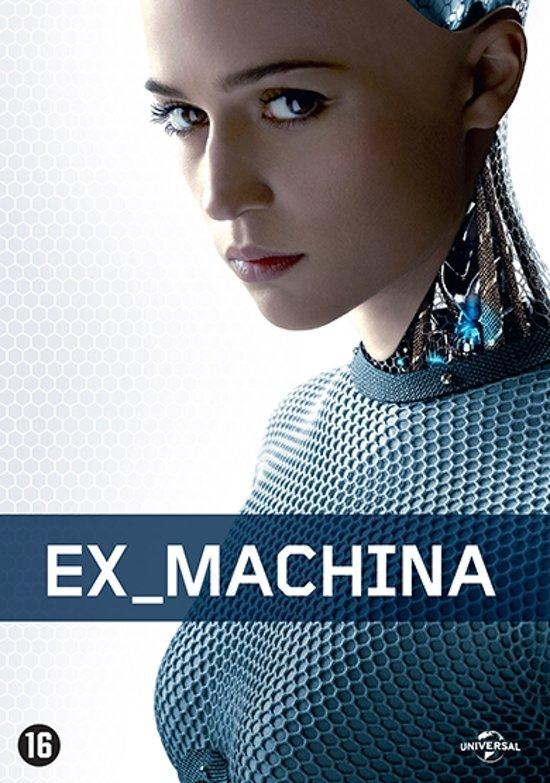 DVD cover van Ex Machina