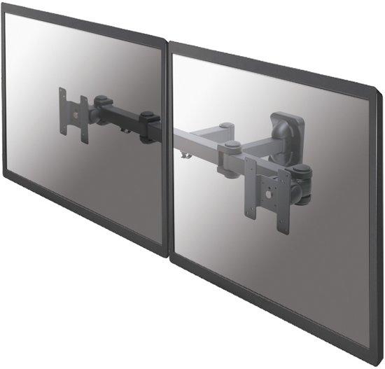 """Newstar FPMA-W960D - draai- en kantelbare wandbeugel - geschikt voor 2 schermen t/m 30"""" - zwart"""