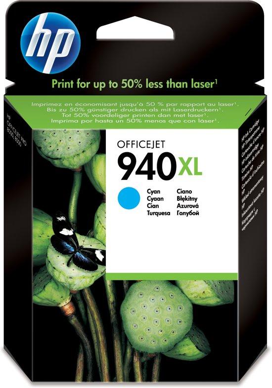 HP 940XL - Inktcartridge / Cyaan / Blister (C4907AE)
