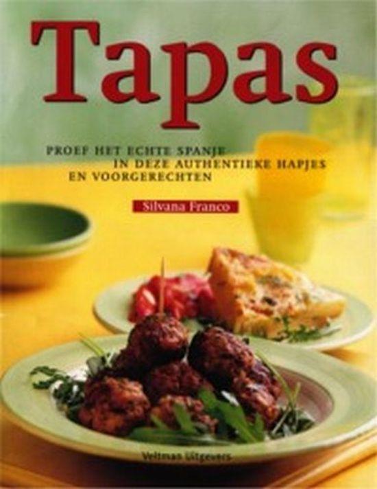 Uitzonderlijk bol.com | Tapas, S. Franco | 9789059203013 | Boeken &DG09