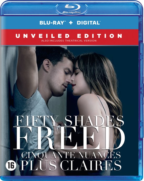 DVD cover van Fifty Shades Freed (Blu-ray)