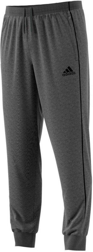 adidas Core 18 Sweat  Trainingsbroek - Maat 152  - Unisex - grijs