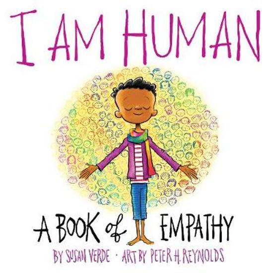 Boek cover I Am Human van Susan Verde (Hardcover)