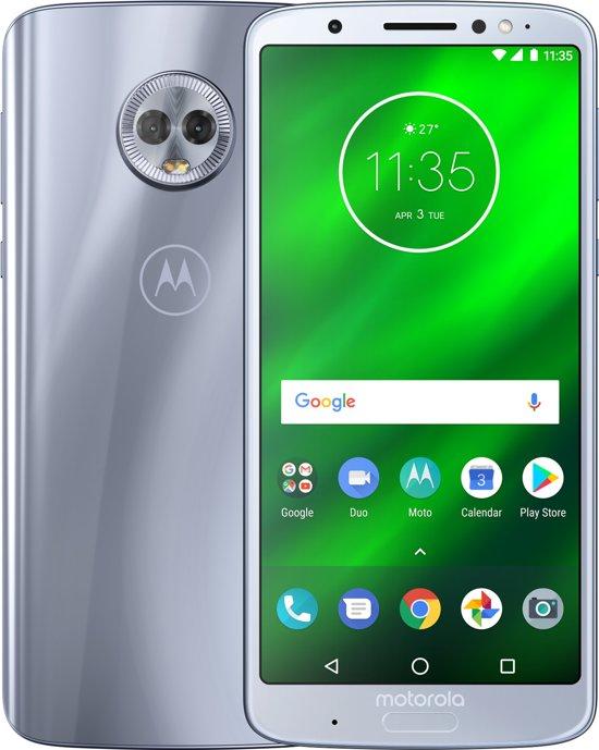 Motorola Moto G6 Plus - 64GB - Silver (zilver)
