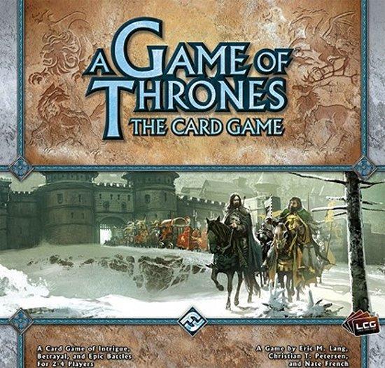 Afbeelding van het spel A Game of Thrones Card Game: Core Set
