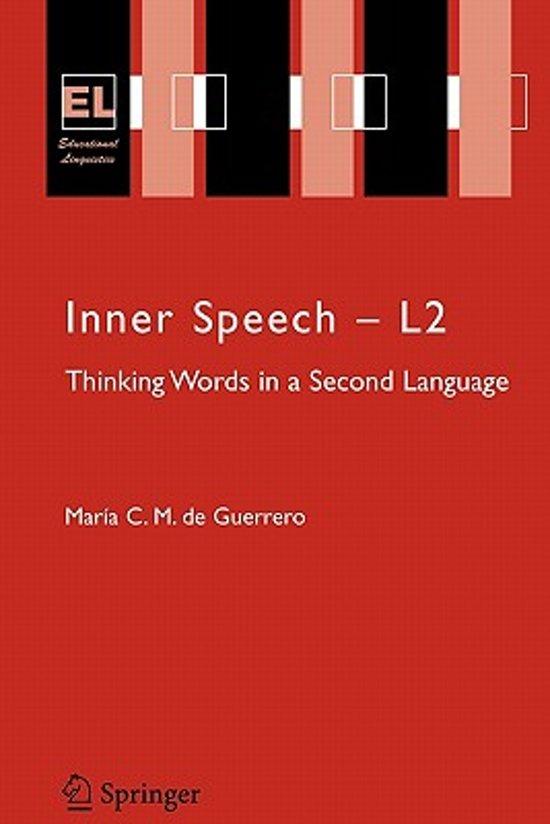 bol com | Inner Speech - L2, Maria C M  de Guerrero