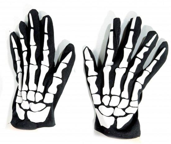 Skelet handschoenen volwassenen