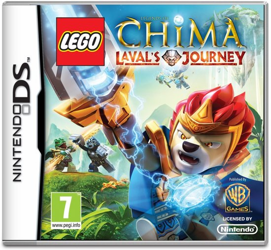 Nintendo LEGO Legends of CHIMA: Laval's Journey Basis Nintendo DS video-game