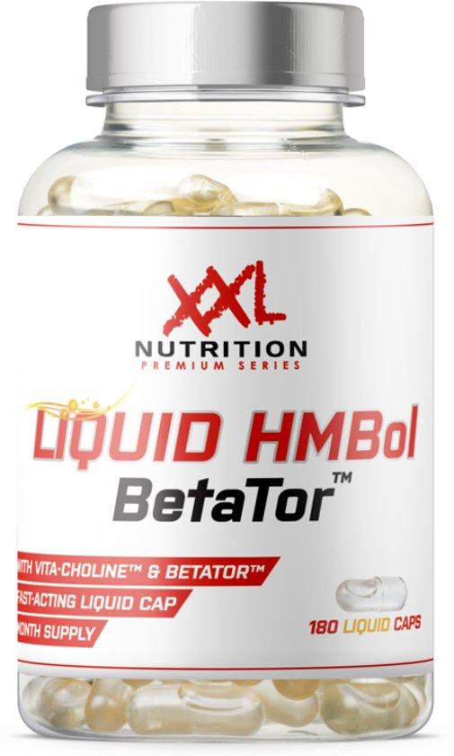 XXL Nutrition - Liquid HMBol - BetaTor - 180 vloeibare capsules