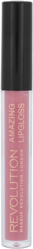 Makeup Revolution Amazing Lipgloss - Nude Shimmer