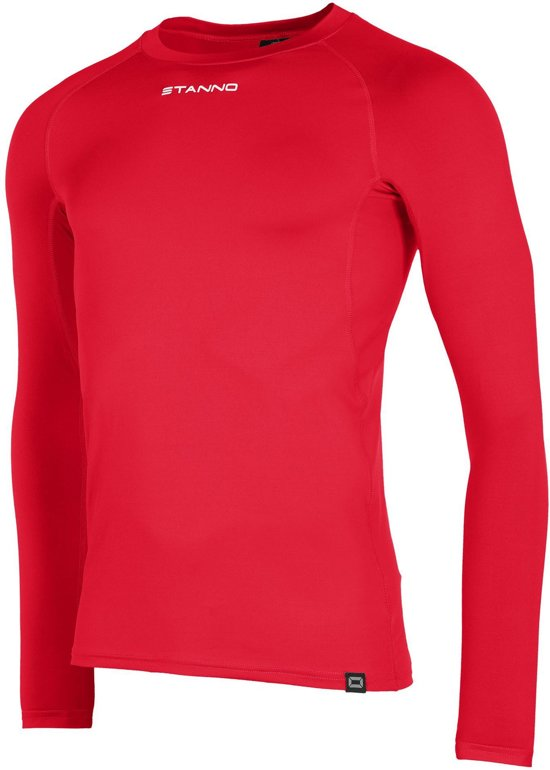 Stanno Functional Sports Thermo Longsleeve  Sportshirt performance - Maat L  - Unisex - rood