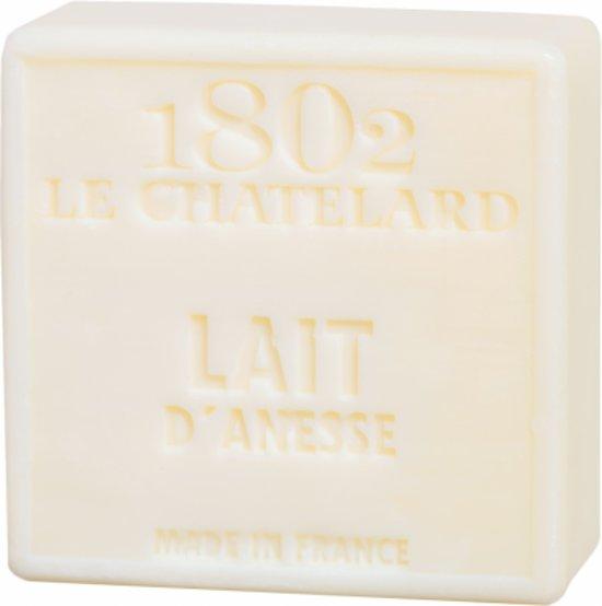 Natuurlijke Marseille zeep Ezelinnenmelk - 100 gram (3 stuks)