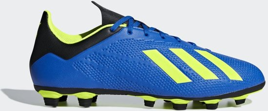adidas x 18.4 fxg voetbalschoenen zwart