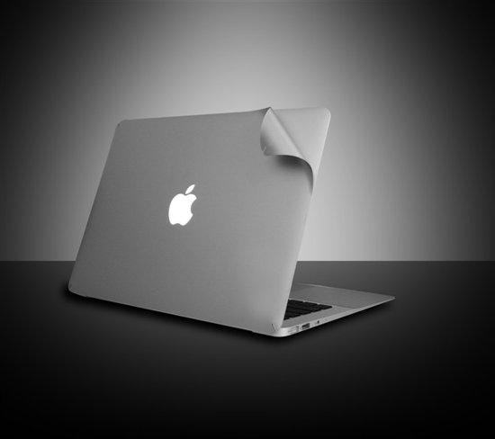 Macbook Sticker voor MacBook Pro met Retina 13 inch model 2014/2015 - Zilver