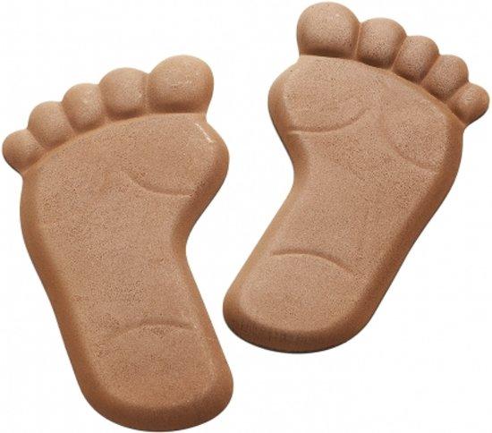 Tuindecoratie voeten vorm pedicure praktijk thema cadeaus podologiepraktijk