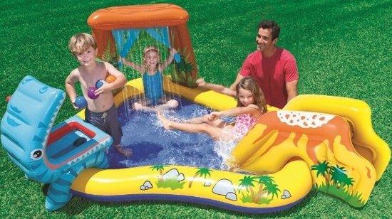 Intex Dinosaurus zwembad speelcentrum - met reparatiesetje