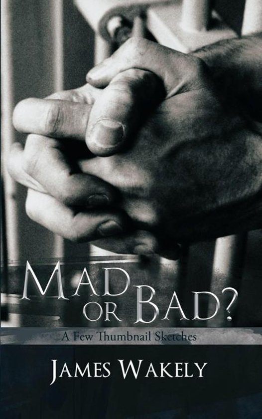 mad or bad It left 'mad people' hanged for offences they could not remember, and 'bad' people freed on unscrupulous pleas written in accessible language, this book - unlike any before it - retells.