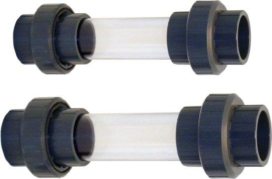 Effast Zichtglas met koppeling 50 mm