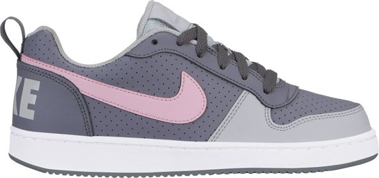 Nike Court Borough Low (Gs) Sneakers Dames - Grijs- Maat 36