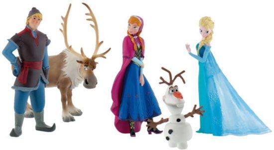 frozen taart decoratie set bol.| Disney Frozen Speelfigurenset, Enigma | Speelgoed frozen taart decoratie set