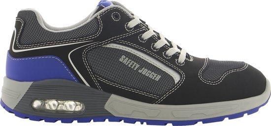 Safety Jogger Werkschoenen.Bol Com Safety Jogger Raptor S1p Zwart Blauw Werkschoenen Uniseks