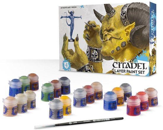 Afbeelding van Games Workshop - Warhammer Citadel Layer Paint Set - 60-25 speelgoed