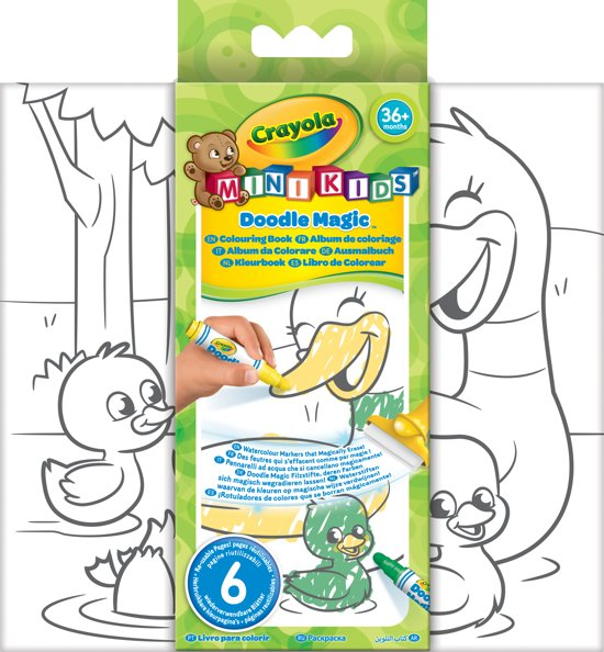 Mini Kids - Doodle Magic Kleurboek