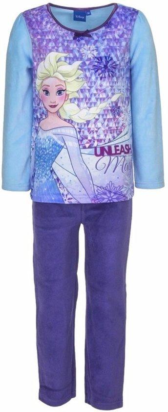 Frozen Elsa velours pyjama blauw voor meisjes 104 (4 jaar)