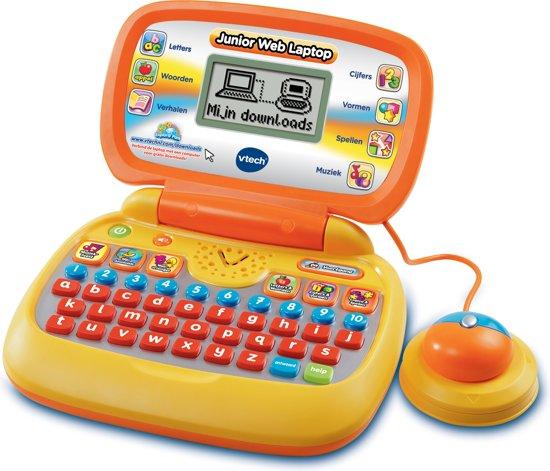 Onwijs bol.com   VTech Leercomputers - Junior Web Laptop - Geel, VTech TB-67