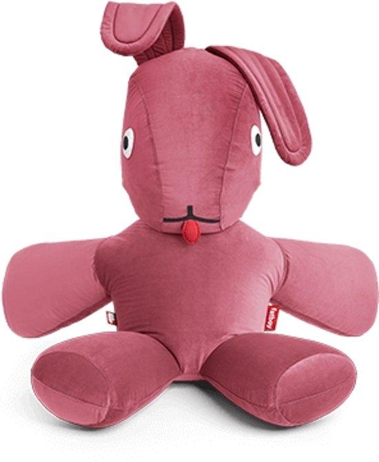 Roze Zitzak Fatboy.Fatboy Co9 Xs Velvet Deep Blush Konijn Zitzak Fluweel Roze 180 150 50cm