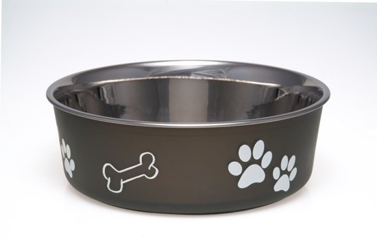 Loving Pets Bella Bowl - Voerbak - Small 350ml - Bruin