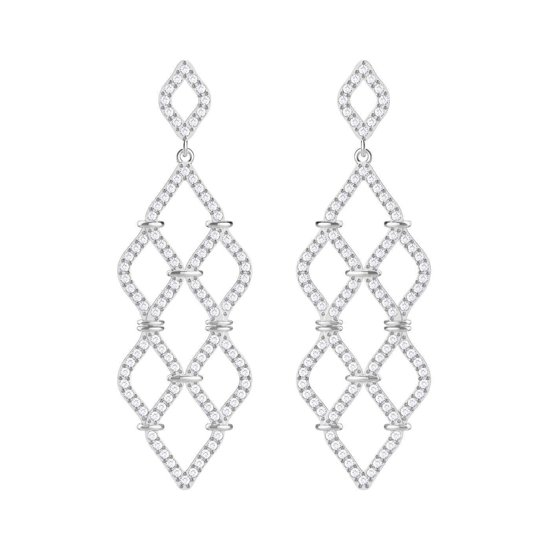 Swarovski oorhangers Lace Chandelier - 5382358