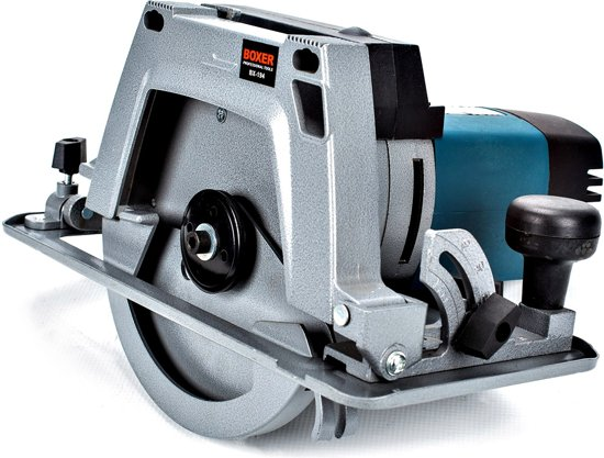 BOXER BX-194 Cirkelzaag 1800 W - 63 mm - Inclusief zaagblad