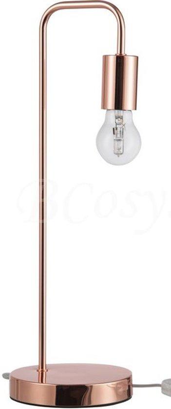 Fonkelnieuw bol.com   Design tafel of nachtkast lamp koper hoogte 47 cm OL-37