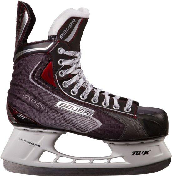 Bauer Vapor X40 ijshockeyschaats - Maat 48 - Zwart - Rood - Grijs