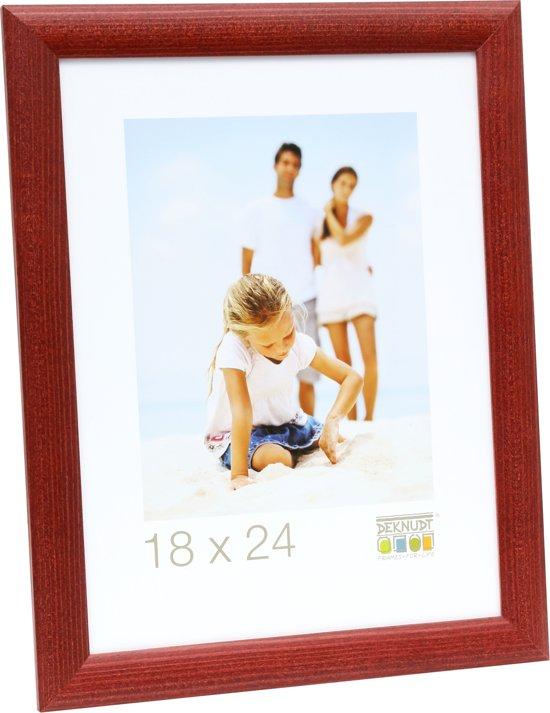 Bolcom Deknudt Frames Rood Fotomaat 30x40 Cm