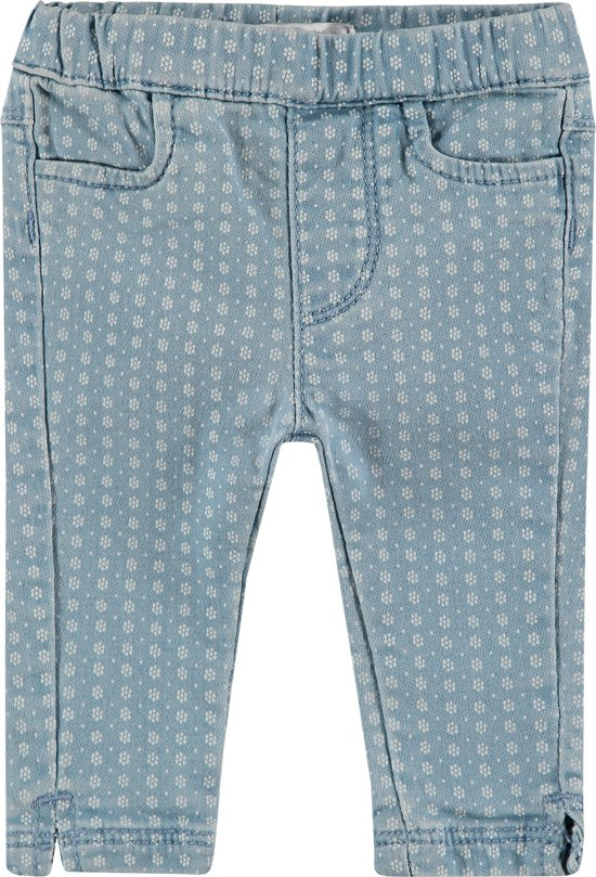 dec7fd6627302 bol.com | Noppies Broek Maroth - Bleach Wash - Maat 68