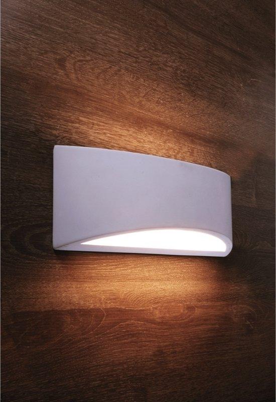 bol.com | Zoomoi Arianna - Wandlamp woonkamer - slaapkamer - gips ...