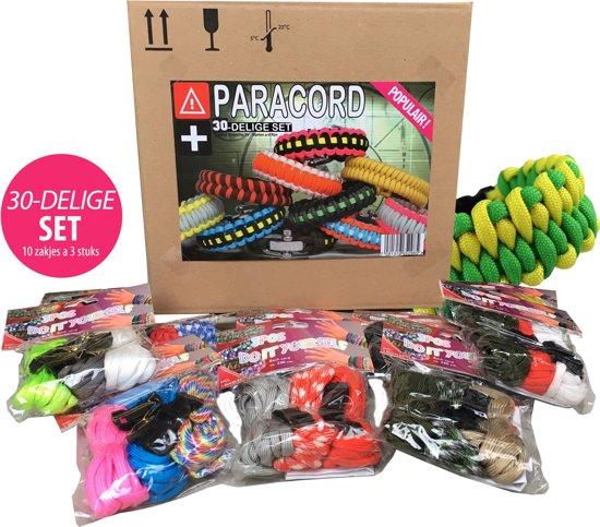 30-Delige Populaire Paracord Set (10 Zakjes)