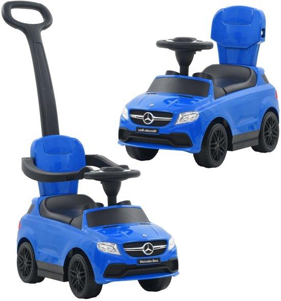 Bol Com Vidaxl Loopauto Met Duwstang Mercedes Benz Gle63 Blauw