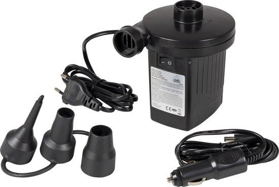 Camp-Gear - Electrische luchtbedpomp - 12/230 Volt - 230 Liter/min