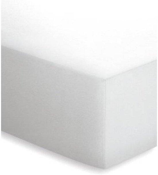 Badstof Hoeslaken 200x200.Schlafgut Hoeslaken Frottee Stretch Badstof 011 Weiss 180 200x200 200