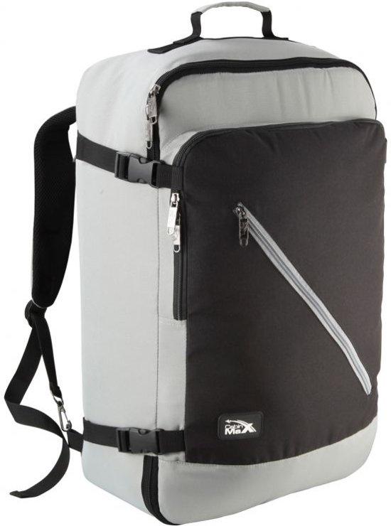 CabinMax Handbagage Rugzak - Handbagage Backpack 38l - Reistas - Rugtas - Schooltas - Grijs (CANBERRA)