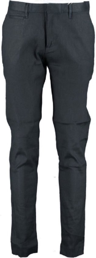 Cast iron cope chino stretch denim touch broek dark navy - Maat W32-L36