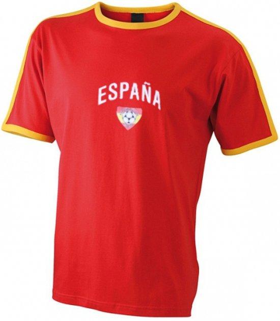 Rood t-shirt voetbal Espana 2xl