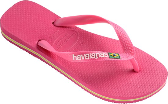 Havaianas Adulte Unisexe Brasil Logo Tongs - Noir (noir), Taille: 37/38