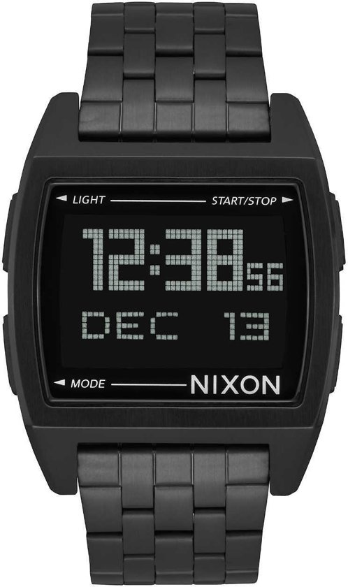 Nixon Base All Black Horloge A1107-001