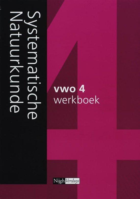 Systematische Natuurkunde / 4 vwo 2007 / deel Werkboek